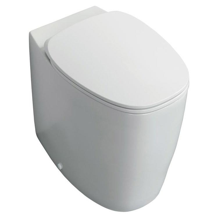 ideal standard dea aquablade back to wall wc pan 550mm t348901. Black Bedroom Furniture Sets. Home Design Ideas