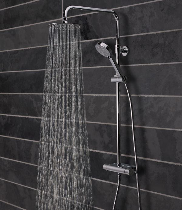 Tavistock Quantum Thermostatic Diverter Bar Valve Shower