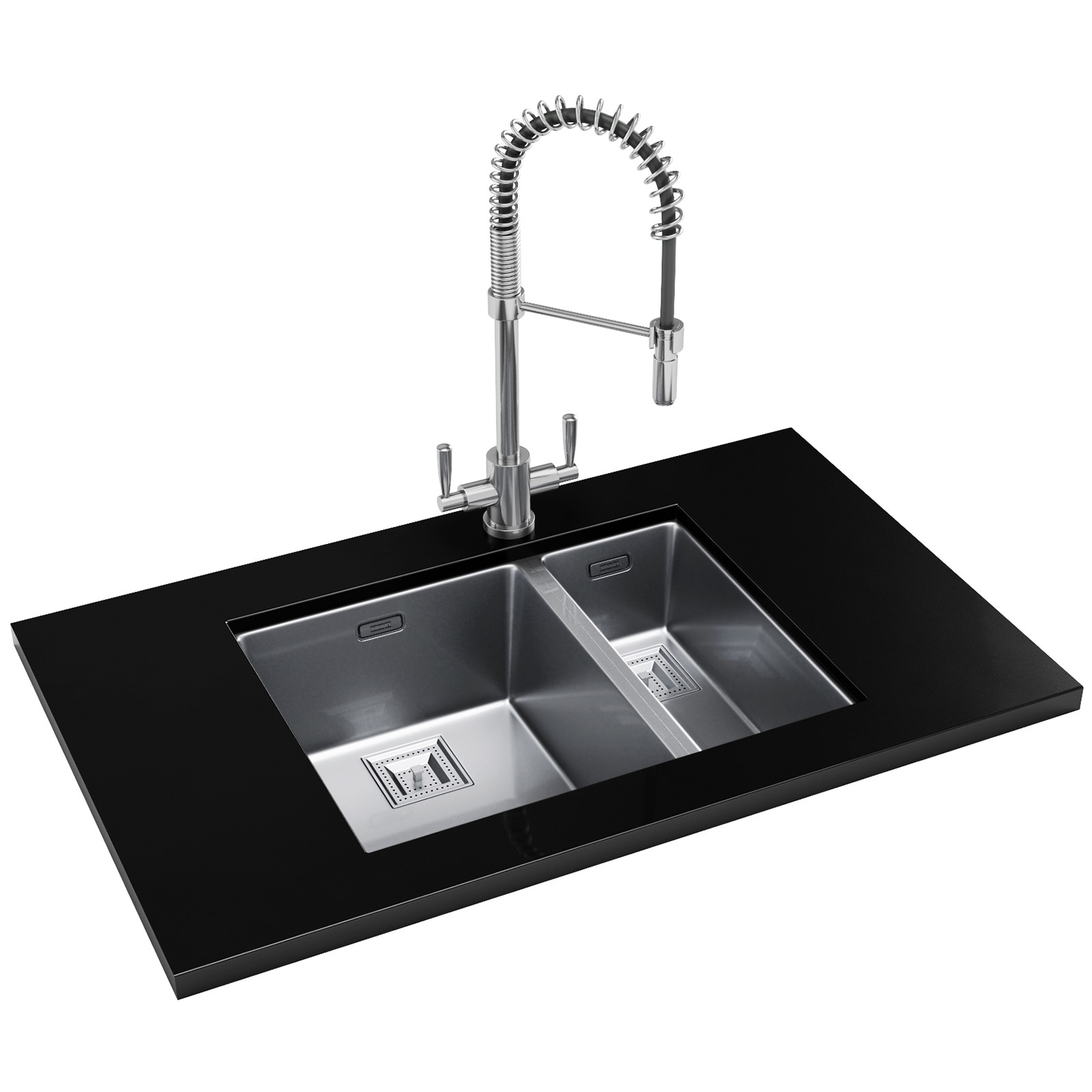 Franke Sinks And Taps : Franke Centinox DP CMX 160 34-17 Stainless Steel Sink And Tap ...