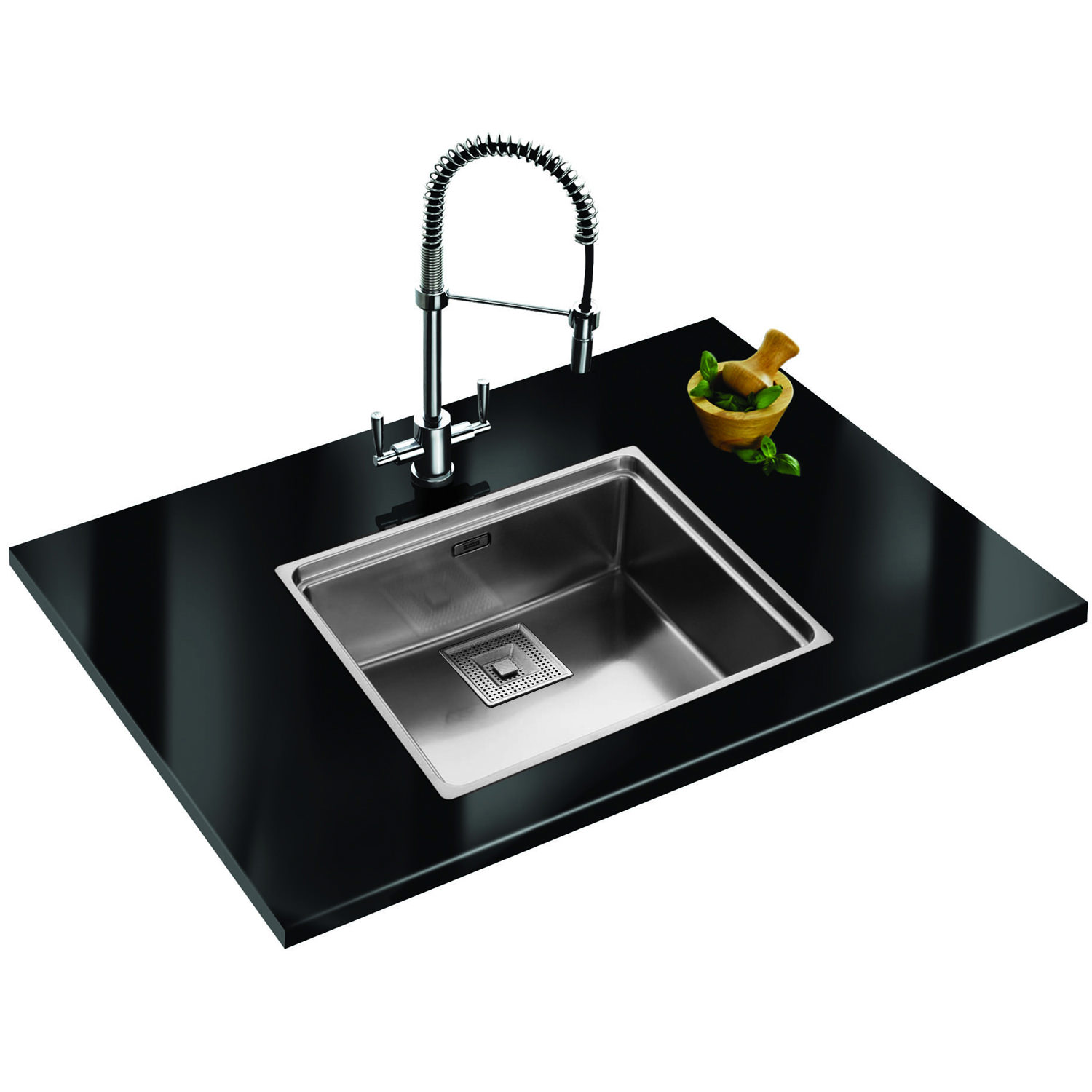 Franke centinox designer pack cex 210 stainless steel sink for Designer stainless steel sinks