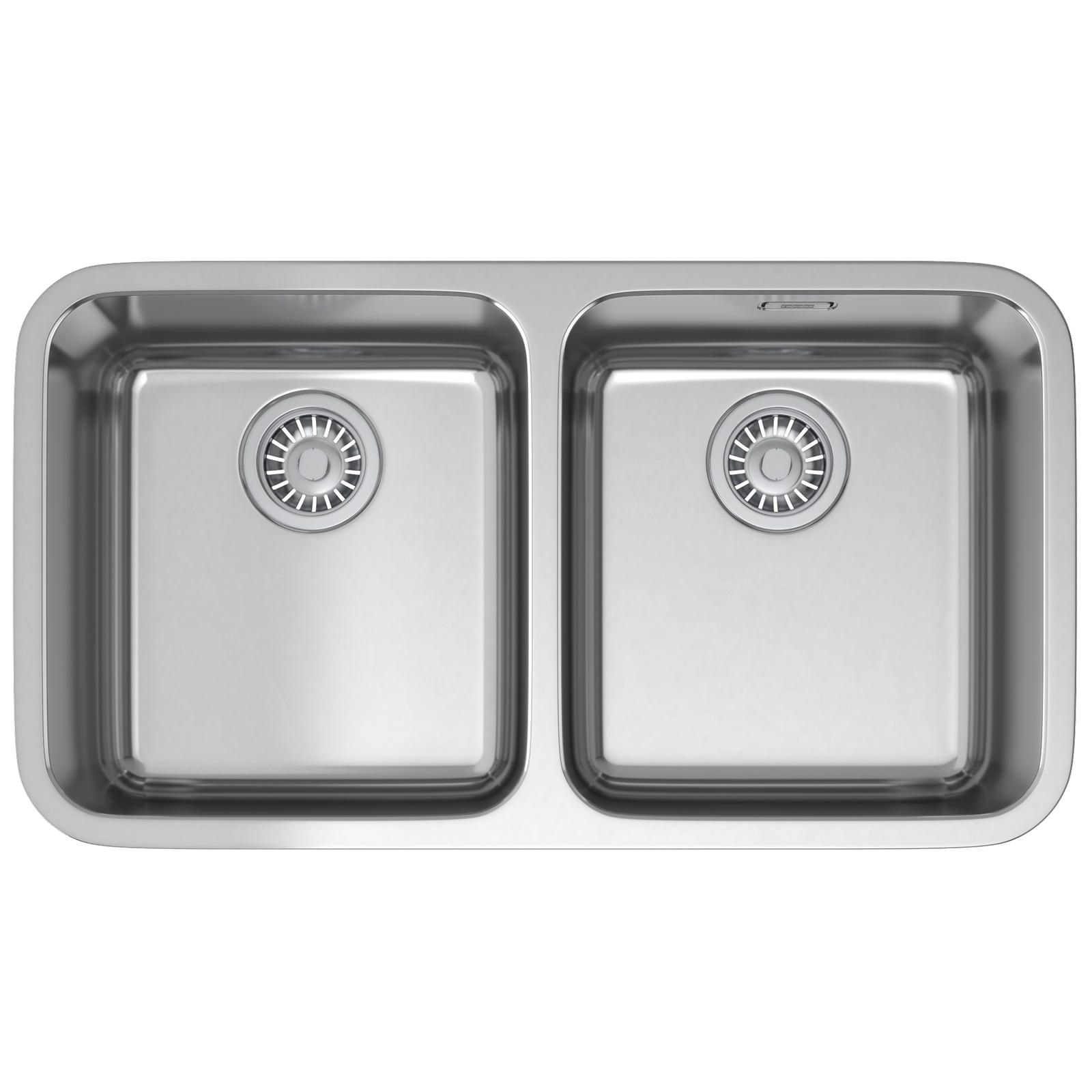 Franke 2 Bowl Sink : ... two bowl sinks franke largo lax 120 36 36 stainless steel 2 0 bowl
