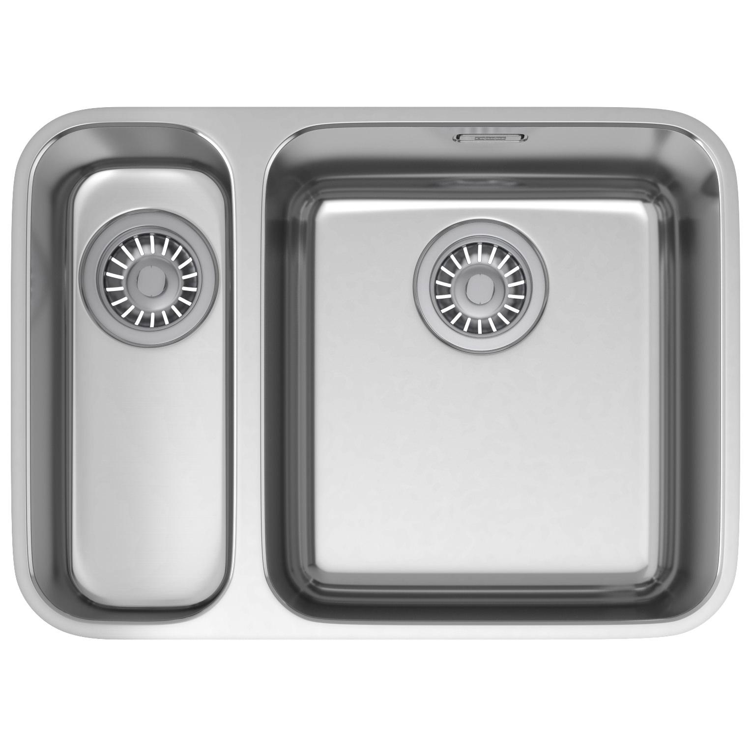 Franke Largo LAX 160 36-16 Stainless Steel 1.5 Bowl Undermount Sink