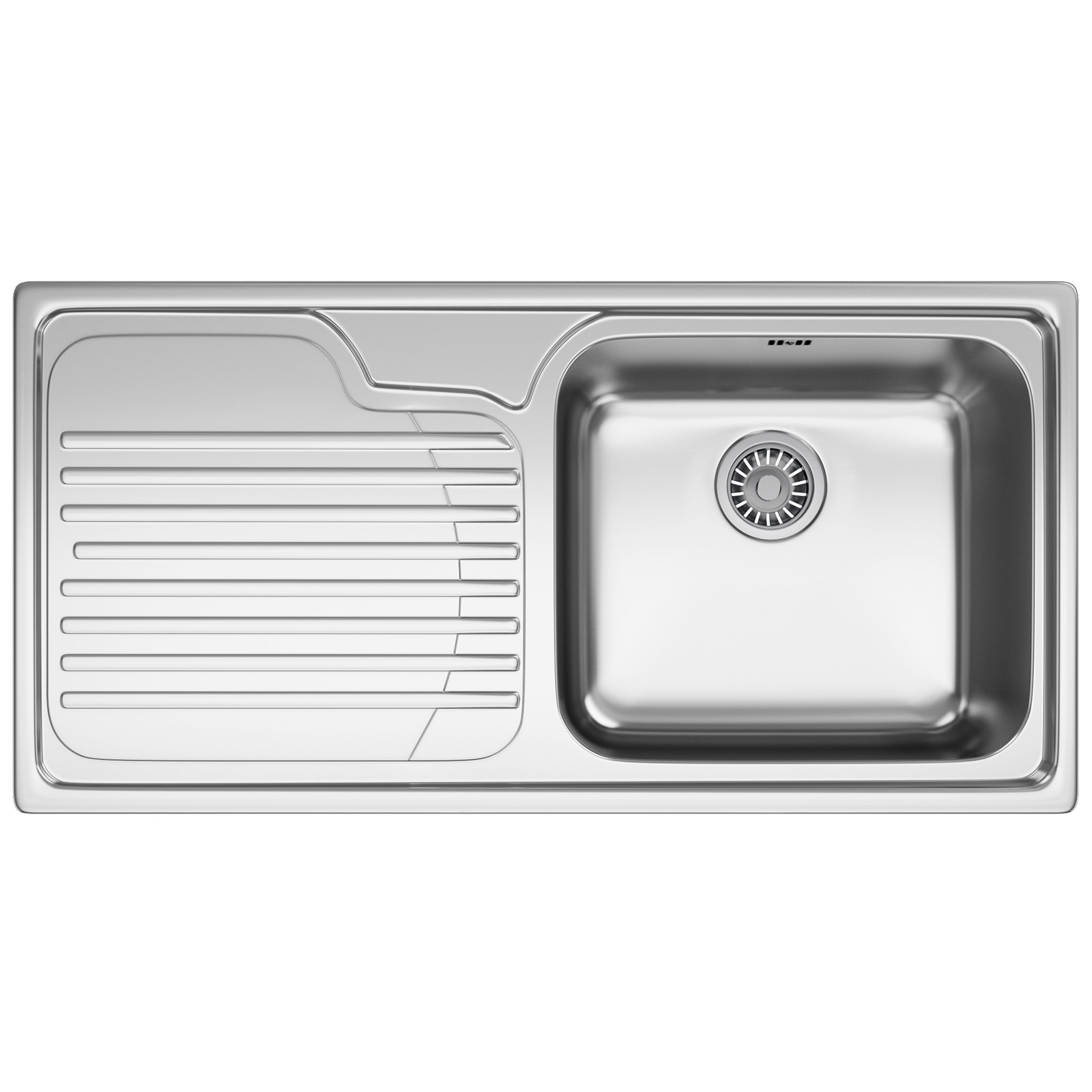 Franke Galassia Sink : Franke Galassia GAX 611 Stainless Steel 1.0 Bowl Kitchen Inset Sink ...