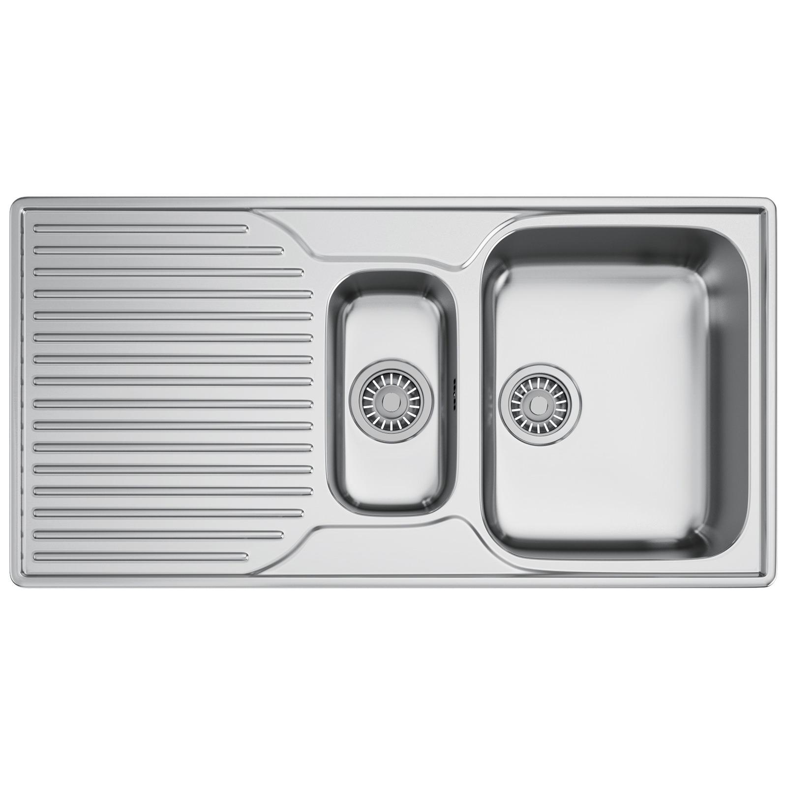 Franke Ariane ARX 651P Stainless Steel 1.5 Bowl Inset Sink ...