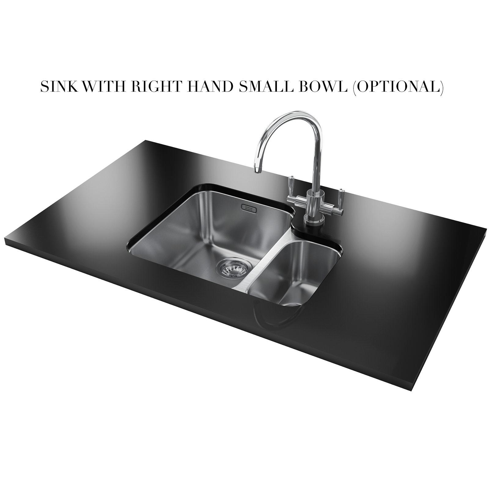 Franke Ariane ARX 160 Stainless Steel 1.5 Bowl Undermount Sink 122 ...