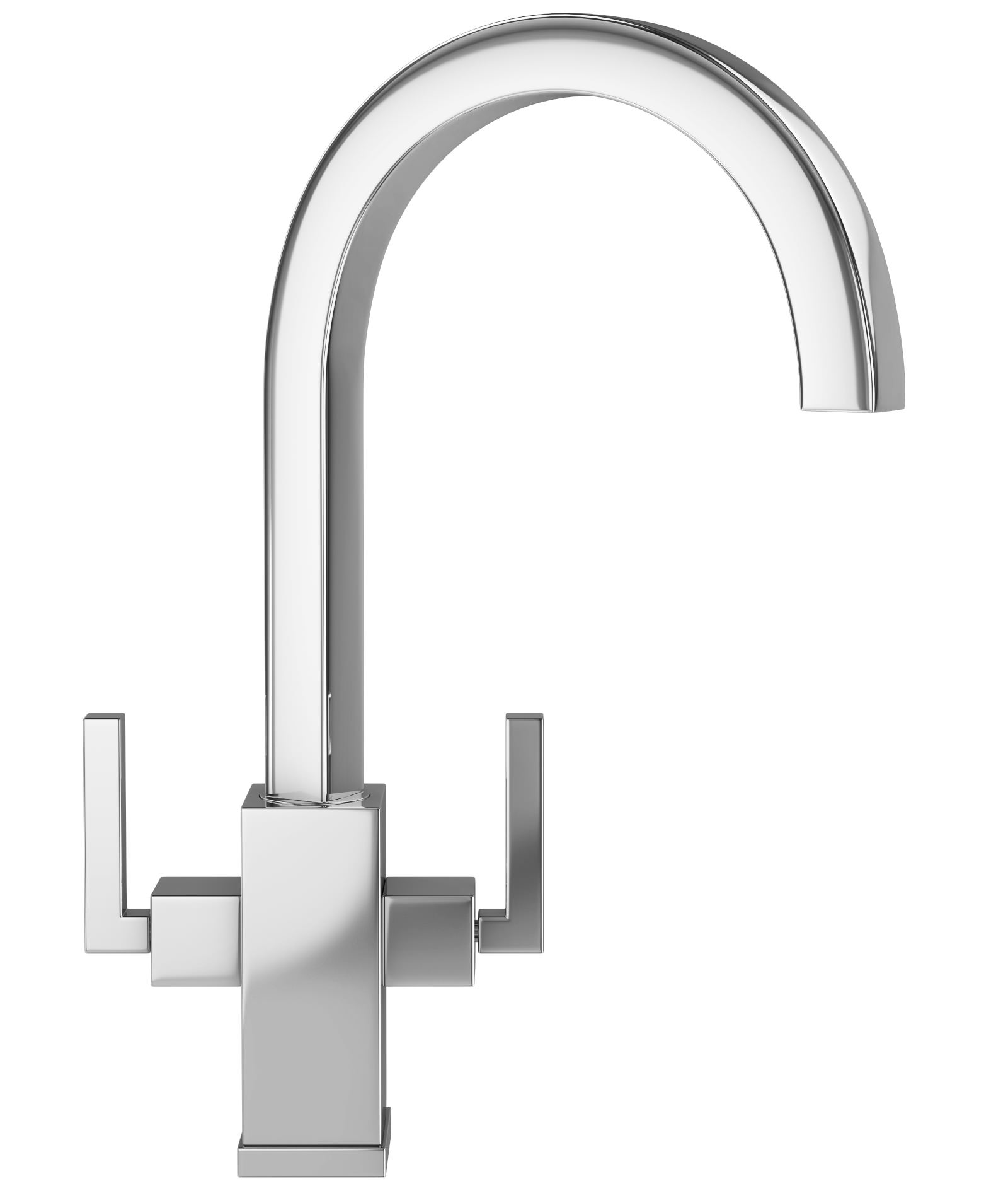 Franke Planar Kitchen Sink Mixer Tap Chrome - More Finish