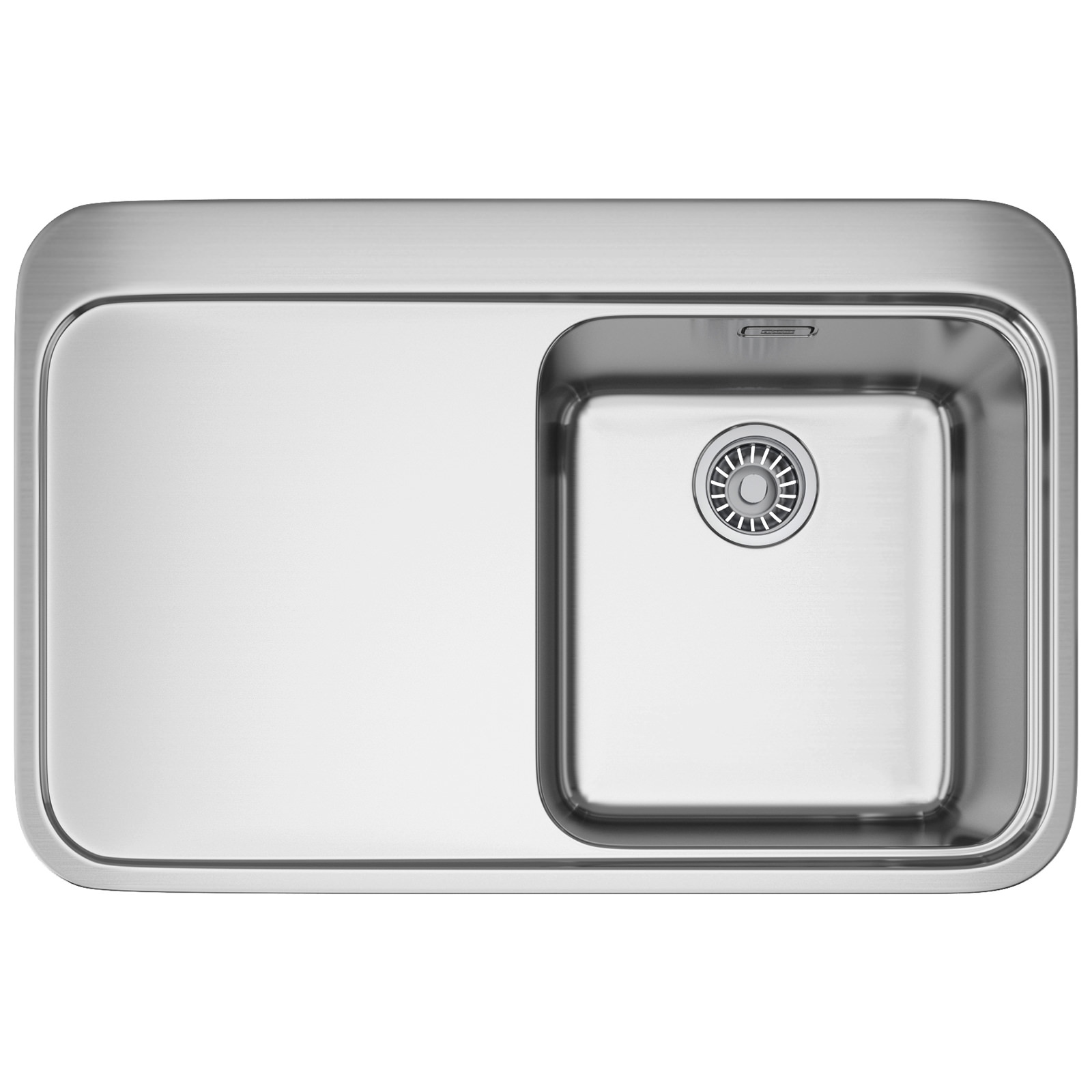 Franke Sinos SNX 211 Stainless Steel 1.0 Bowl Inset Kitchen Sink ...