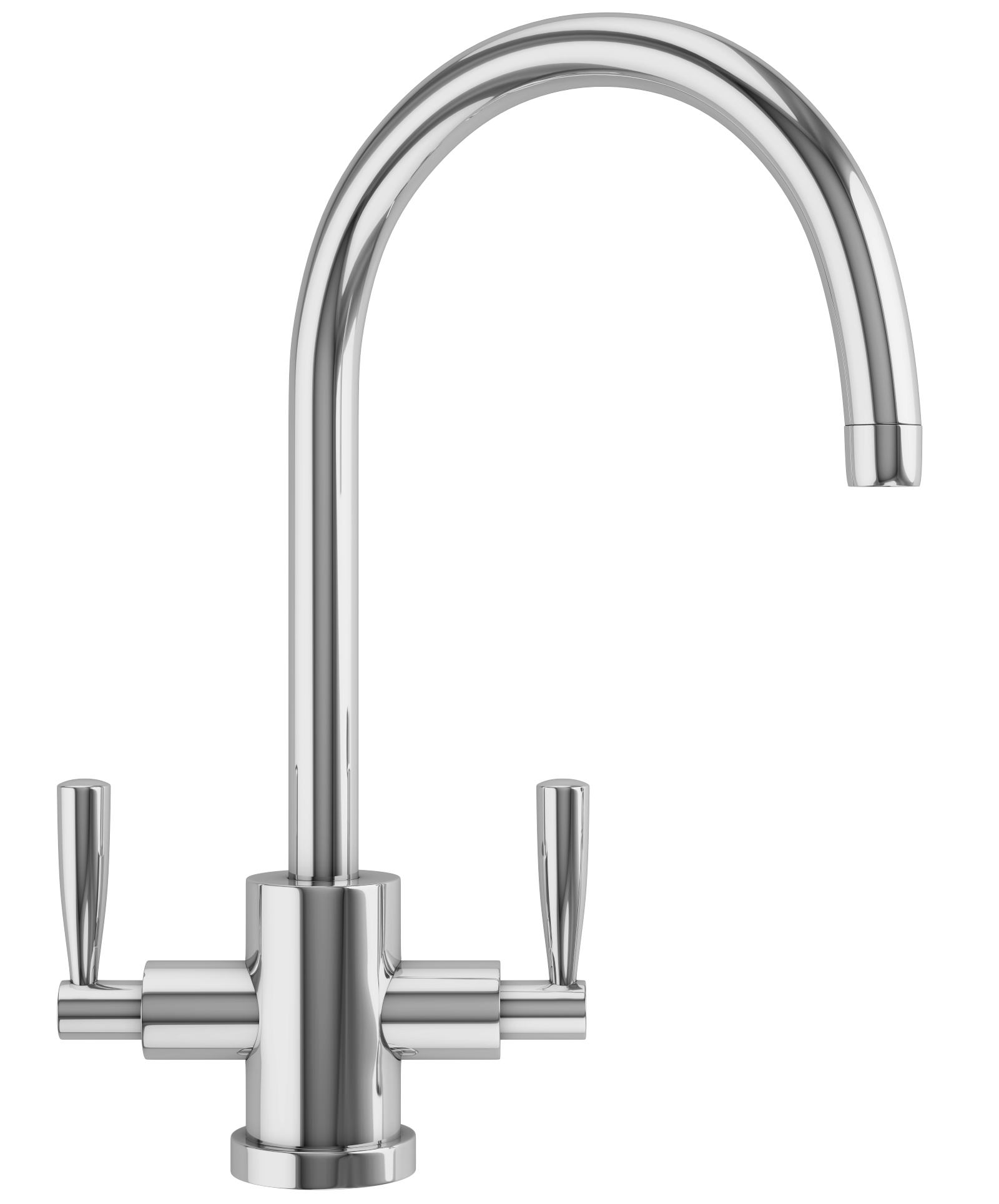 franke olympus kitchen sink mixer tap chrome - Kitchen Sink Mixer Taps
