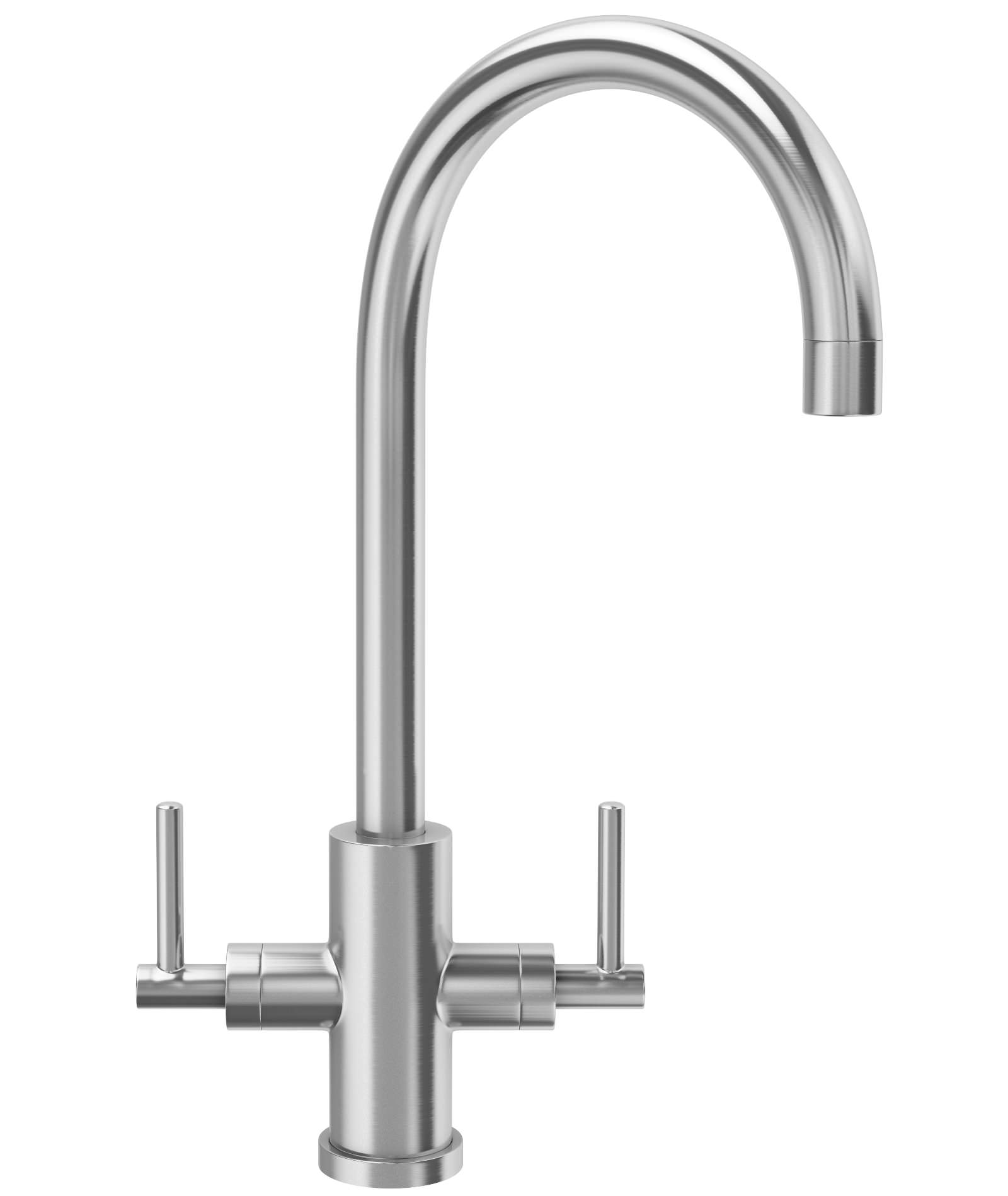 Franke Panto Kitchen Sink Mixer Tap Solid Stainless Steel | 1150063559