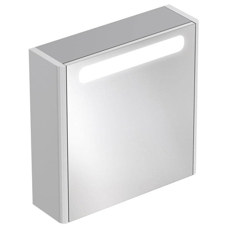 ideal standard bathroom cabinets ideal standard softmood mirror cabinet with light 600 x 600mm 18788