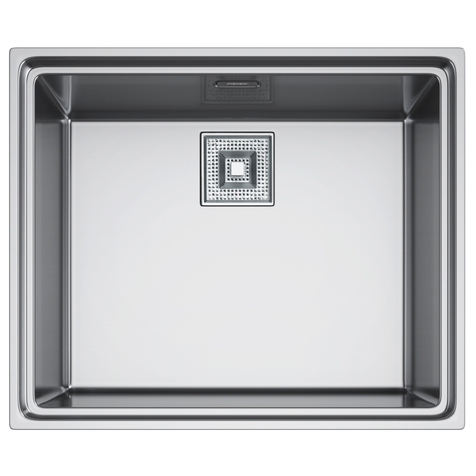 Franke Centinox CEX 210 Stainless Steel 1.0 Bowl Inset Sink And ...