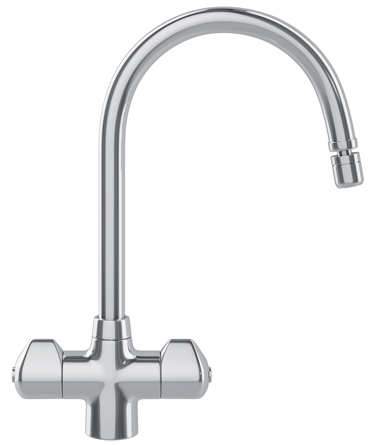 Franke Moselle Kitchen Sink Mixer Tap Chrome 1150049976