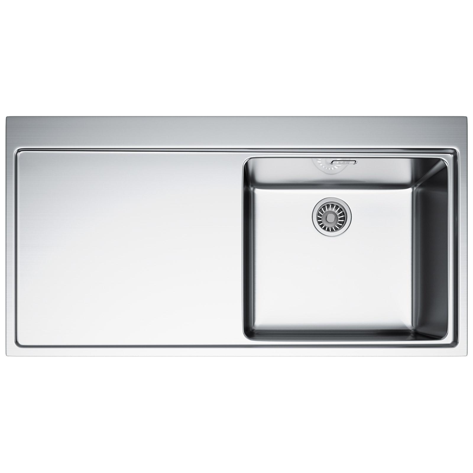 Franke Sink Tops : Franke Mythos MMX 211 Slim-Top 1.0 Bowl Stainless Steel Inset Sink ...