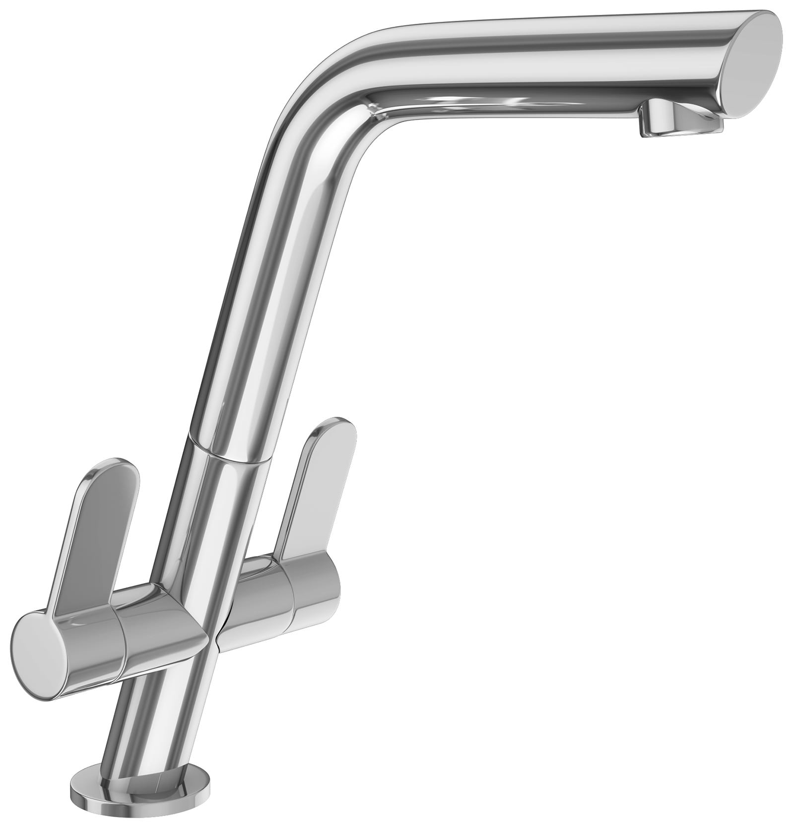 Franke cresta kitchen sink mixer tap chrome 1150250642 for Franke küchen