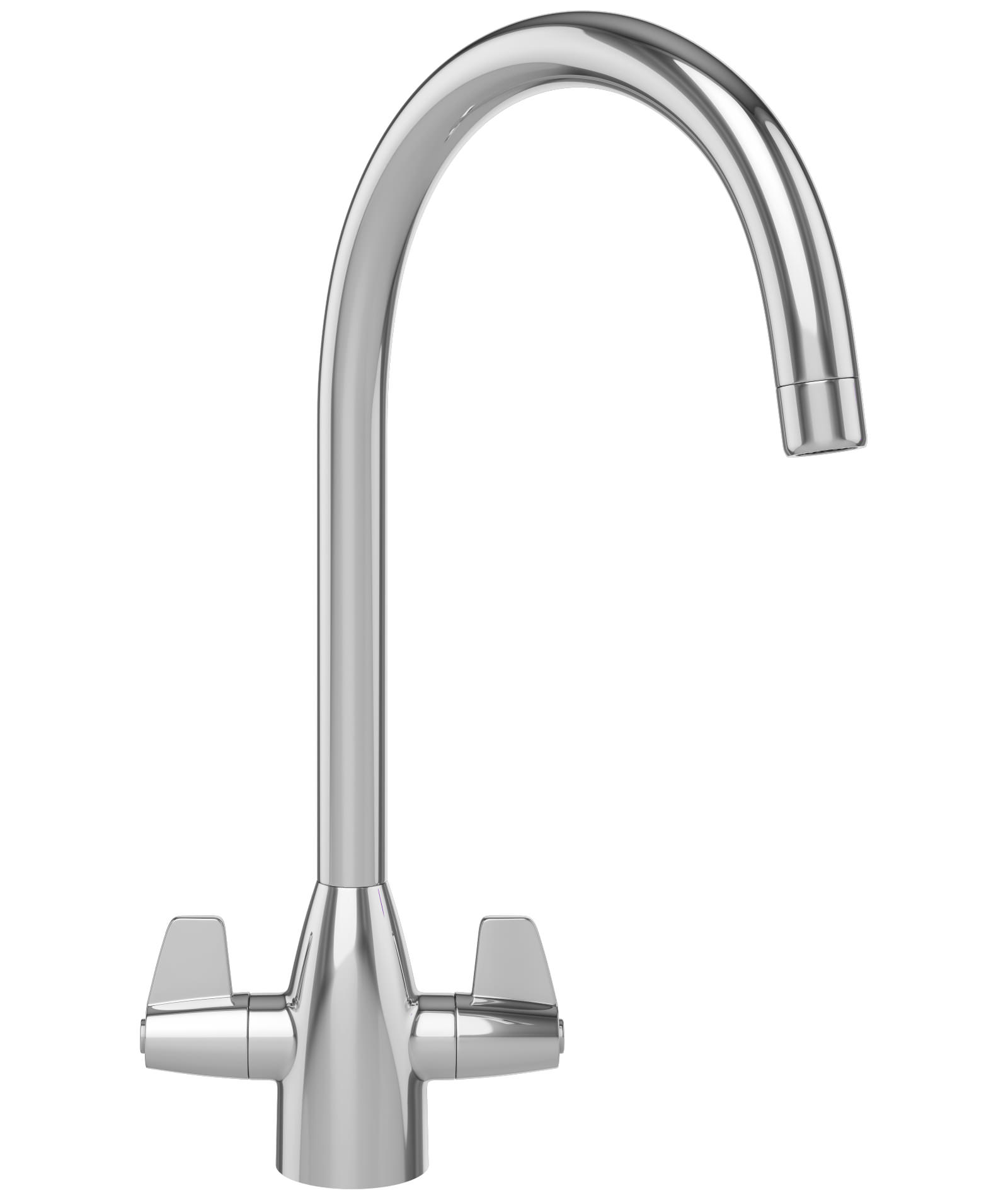 franke davos j kitchen sink mixer tap chrome - Kitchen Sink Mixer Taps