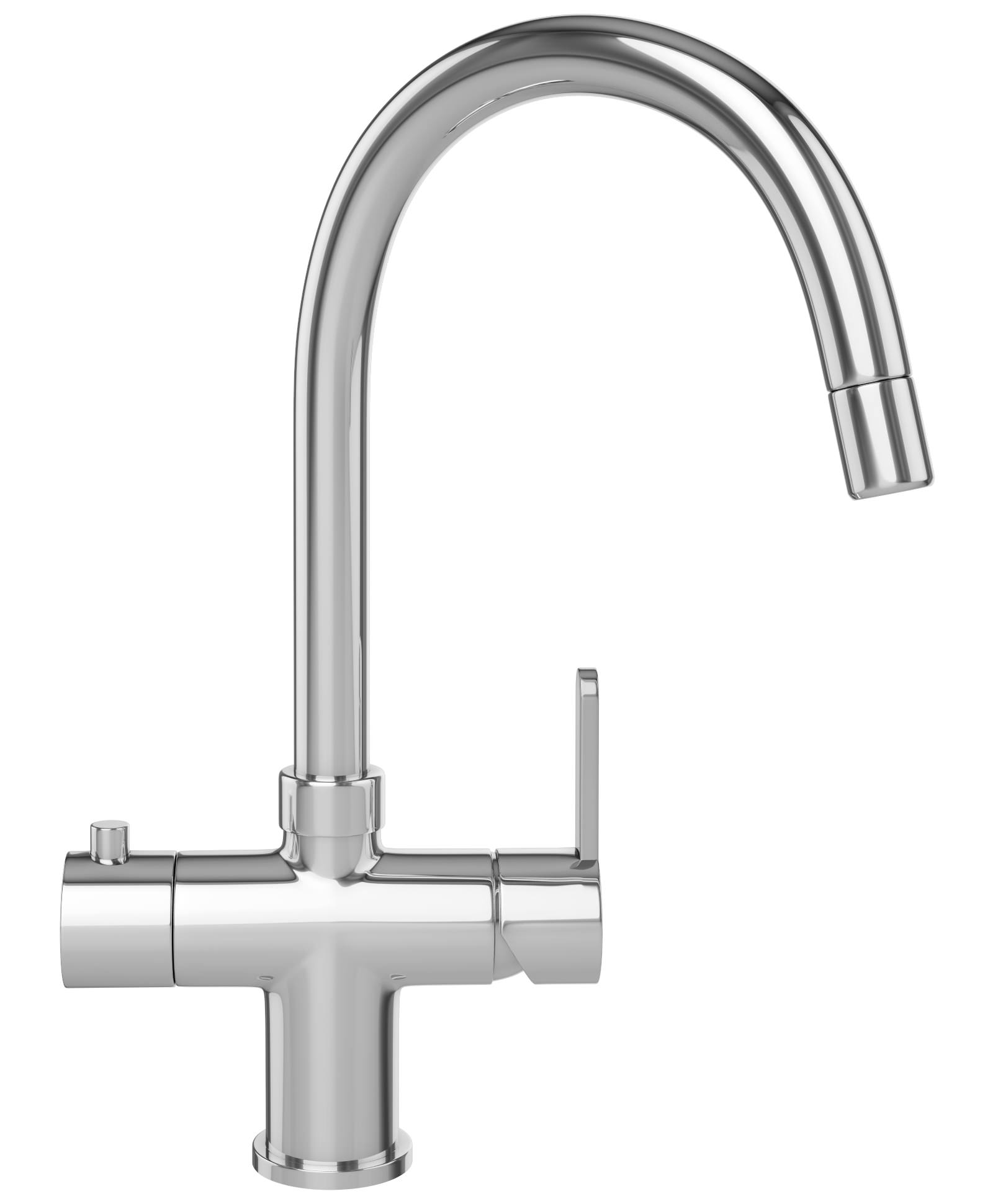 Taps Uk Kitchen Sinks Part - 35: Franke Minerva 3-In-1 Instant Boiling Water Kettle Kitchen Sink Tap