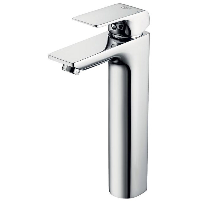 ideal standard strada tall single lever basin mixer tap a6297aa. Black Bedroom Furniture Sets. Home Design Ideas