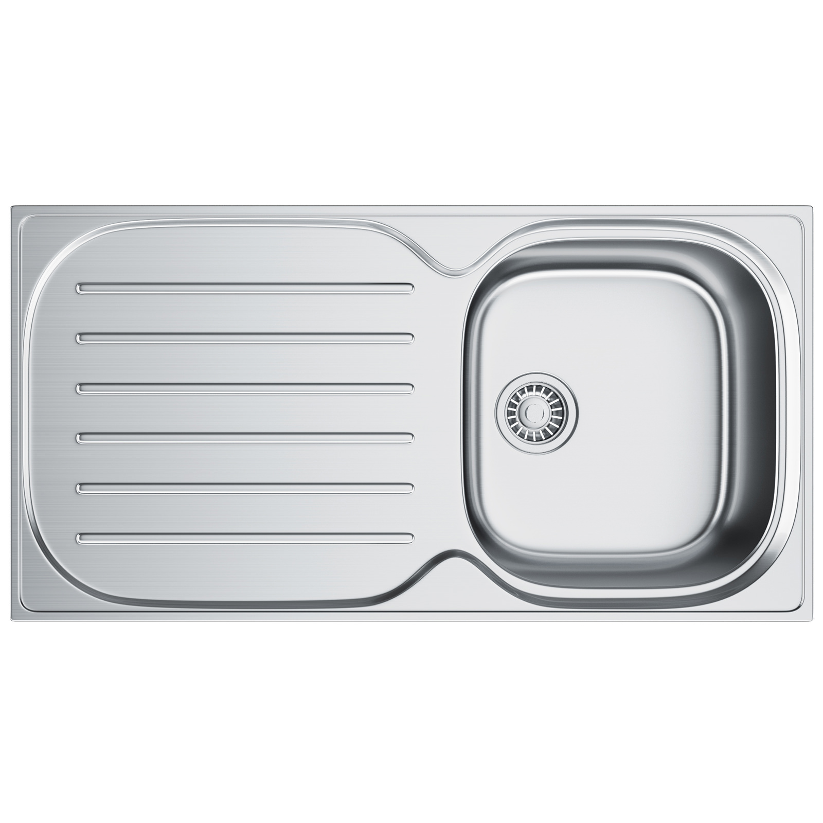 Franke compact plus cpx p 611 965 stainless steel inset sink 1010182322 bom
