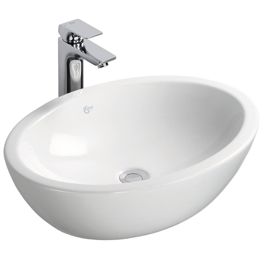 Ideal Standard Strada 600 x 420mm Oval Vessel Washbasin ...