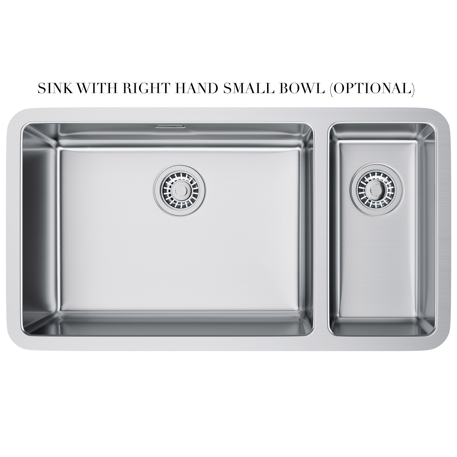 ... of Franke Kubus KBX 160 55-20 Stainless Steel 1.5 Bowl Undermount Sink