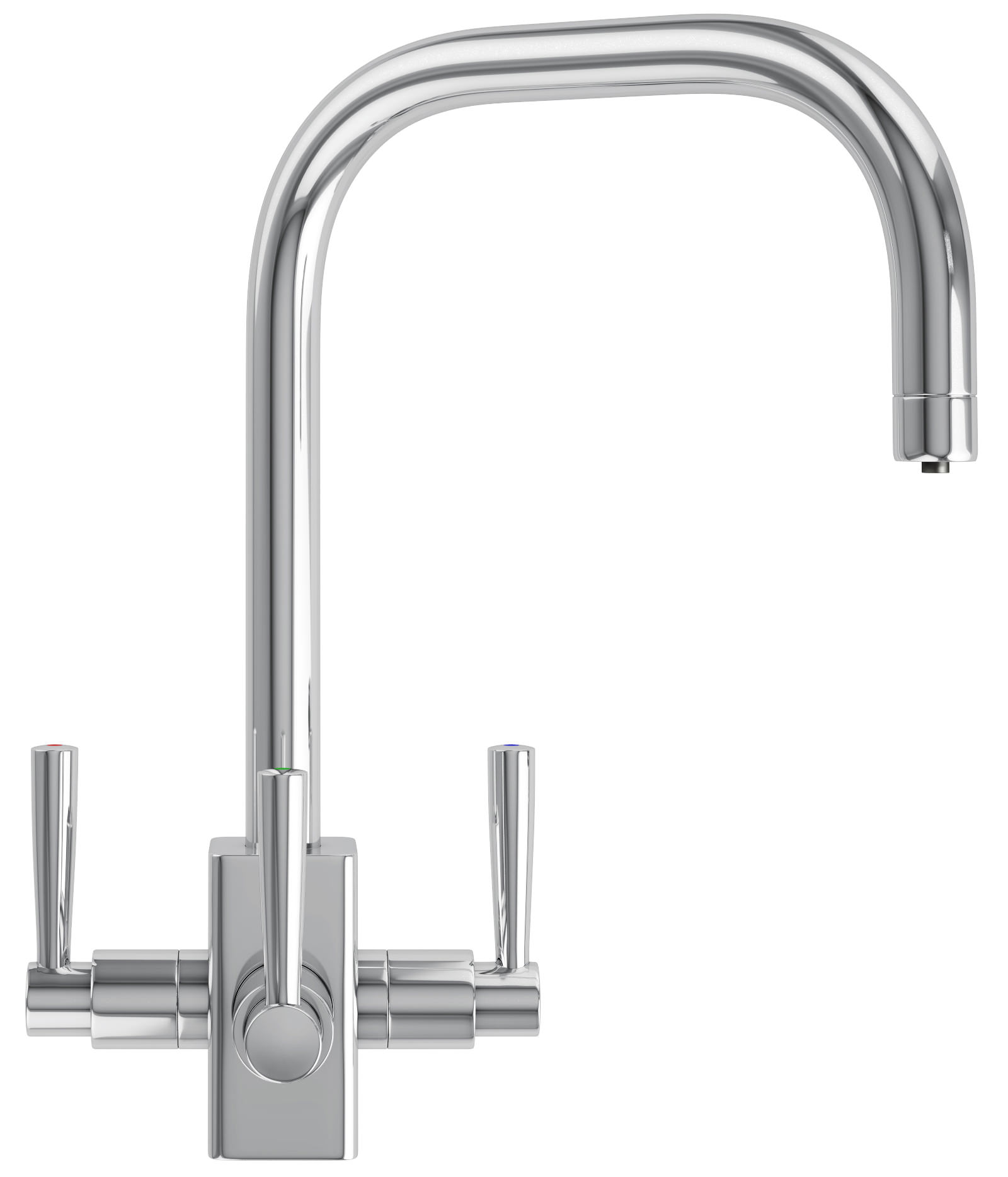 franke filterflow kubus kitchen sink tap chrome 120 0180 354