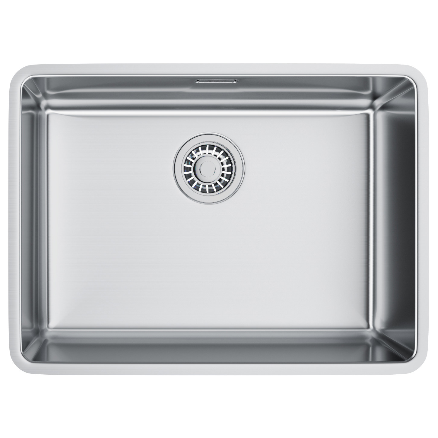 Franke Stainless Steel Sink : Franke Kubus KBX 110 55 Stainless Steel Undermount Kitchen Sink ...