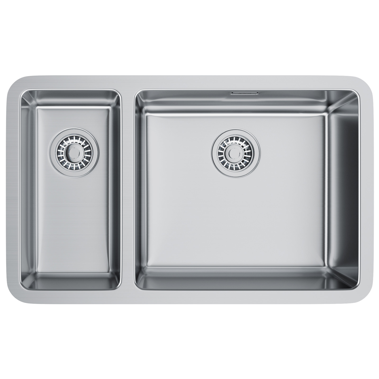 Franke Kitchen Sinks : Franke Kubus KBX 160 45-20 Stainless Steel Undermount Kitchen Sink ...