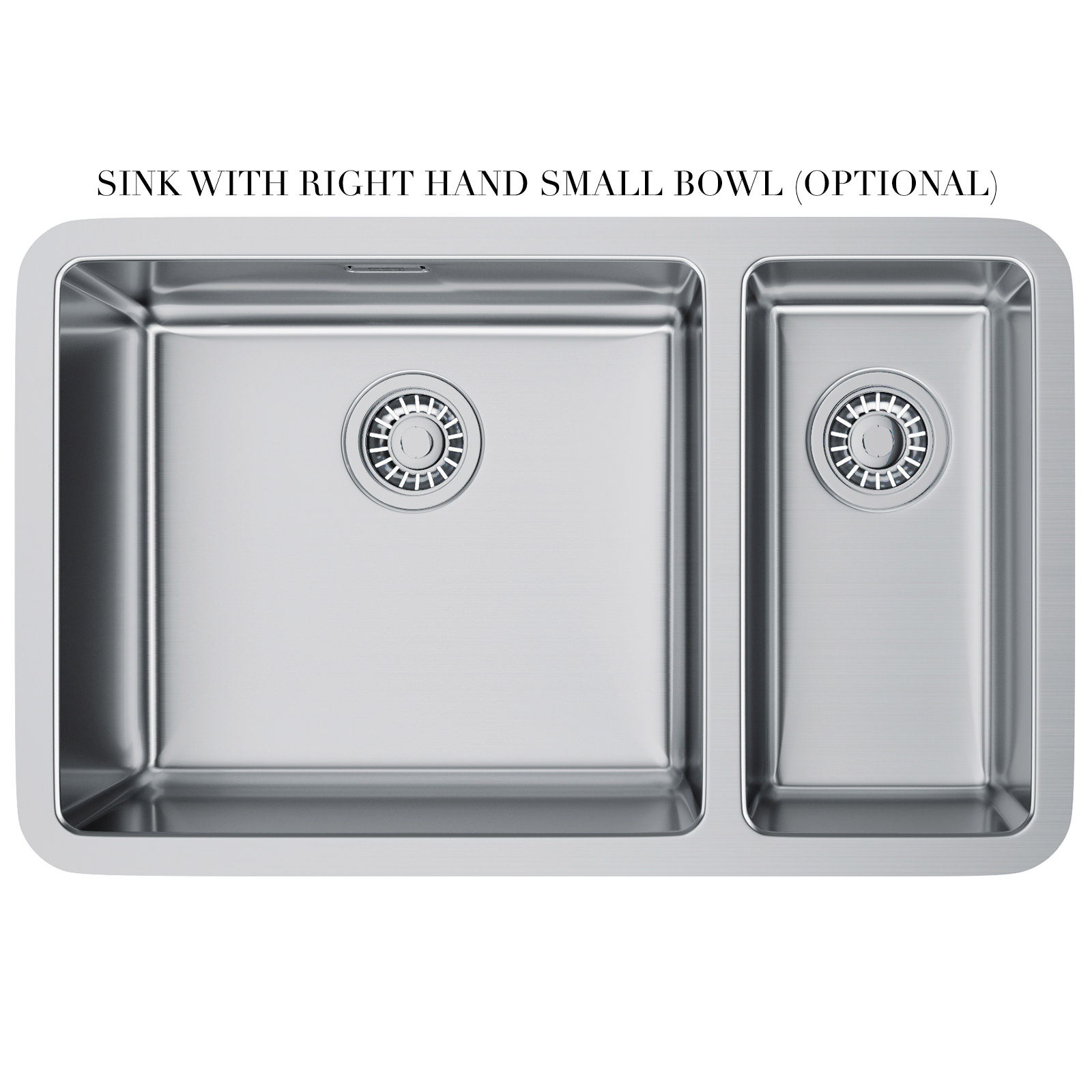 Franke Grey Sink : ... of Franke Kubus KBX 160 45-20 Stainless Steel 1.5 Bowl Undermount Sink
