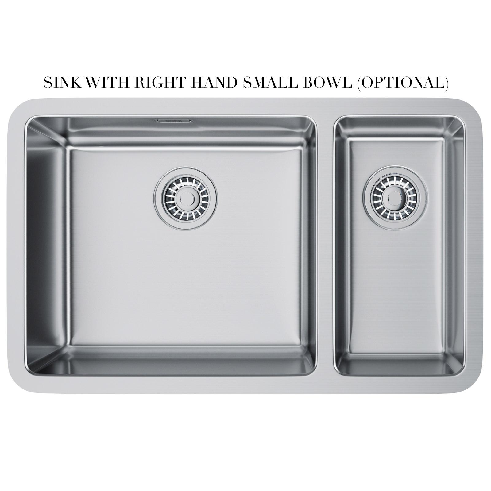 Franke Stainless Steel Undermount Kitchen Sinks : Franke Kubus KBX 160 45-20 Stainless Steel Undermount Kitchen Sink ...