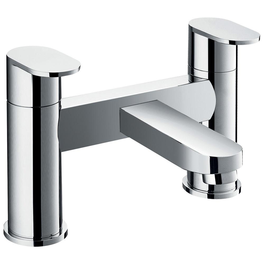 flova smart bridge style deck mounted bath filler tap smbf