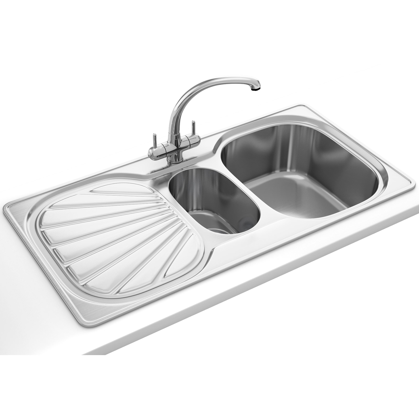 erica propack eux 651 stainless steel kitchen sink and tap. Interior Design Ideas. Home Design Ideas