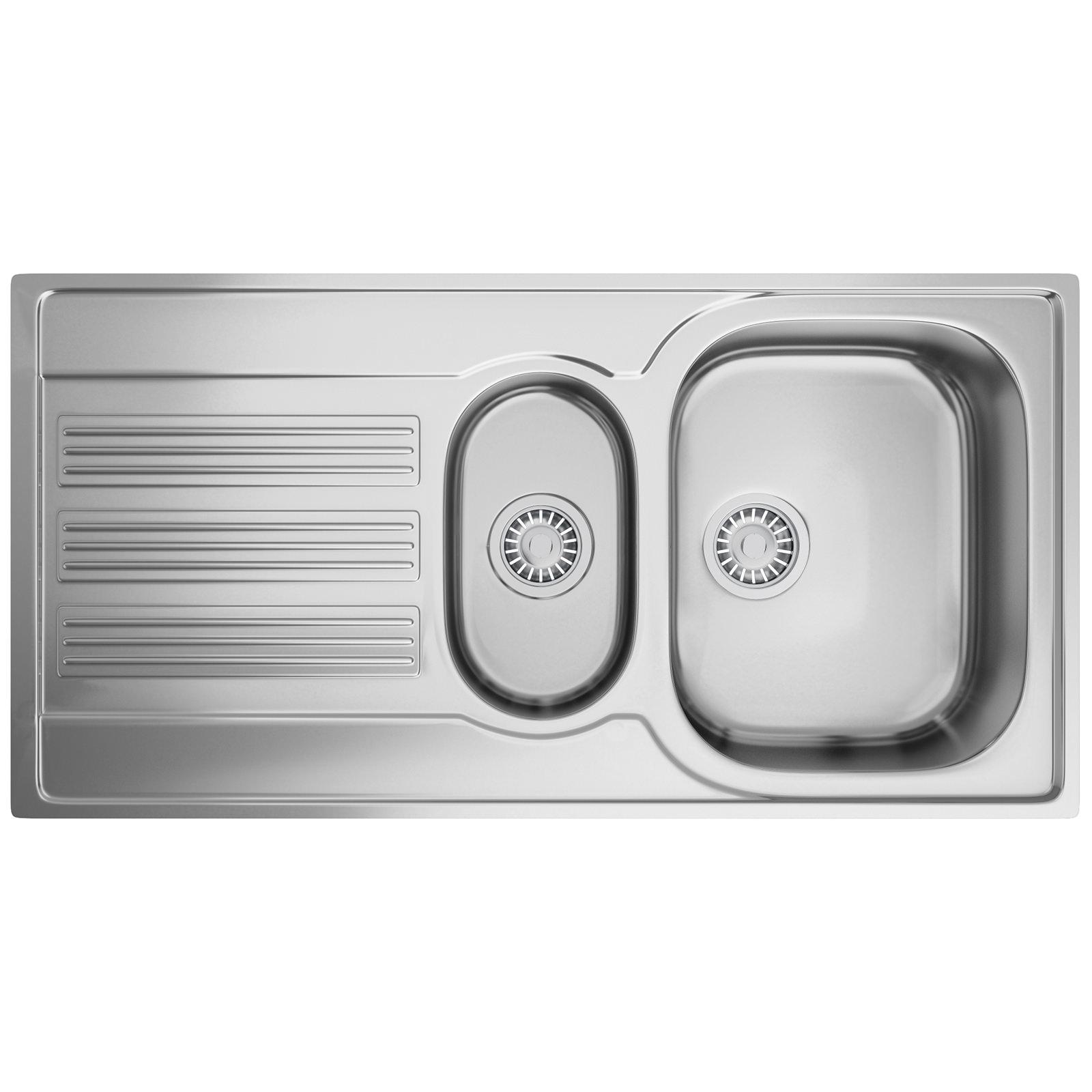 Franke Galileo GOX 651 Stainless Steel 1 5 Bowl Kitchen Inset Sink