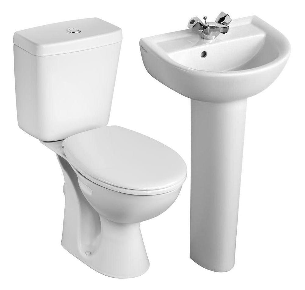 Armitage shanks bathroom sinks - Armitage Shanks Sandringham 21 Toilet And 1 Taphole Basin To Go Box Pack