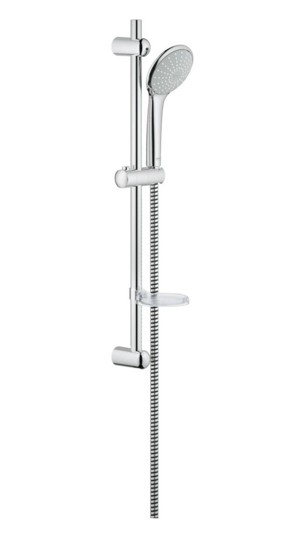 grohe euphoria mono shower set mono with 600mm rail 27256001. Black Bedroom Furniture Sets. Home Design Ideas