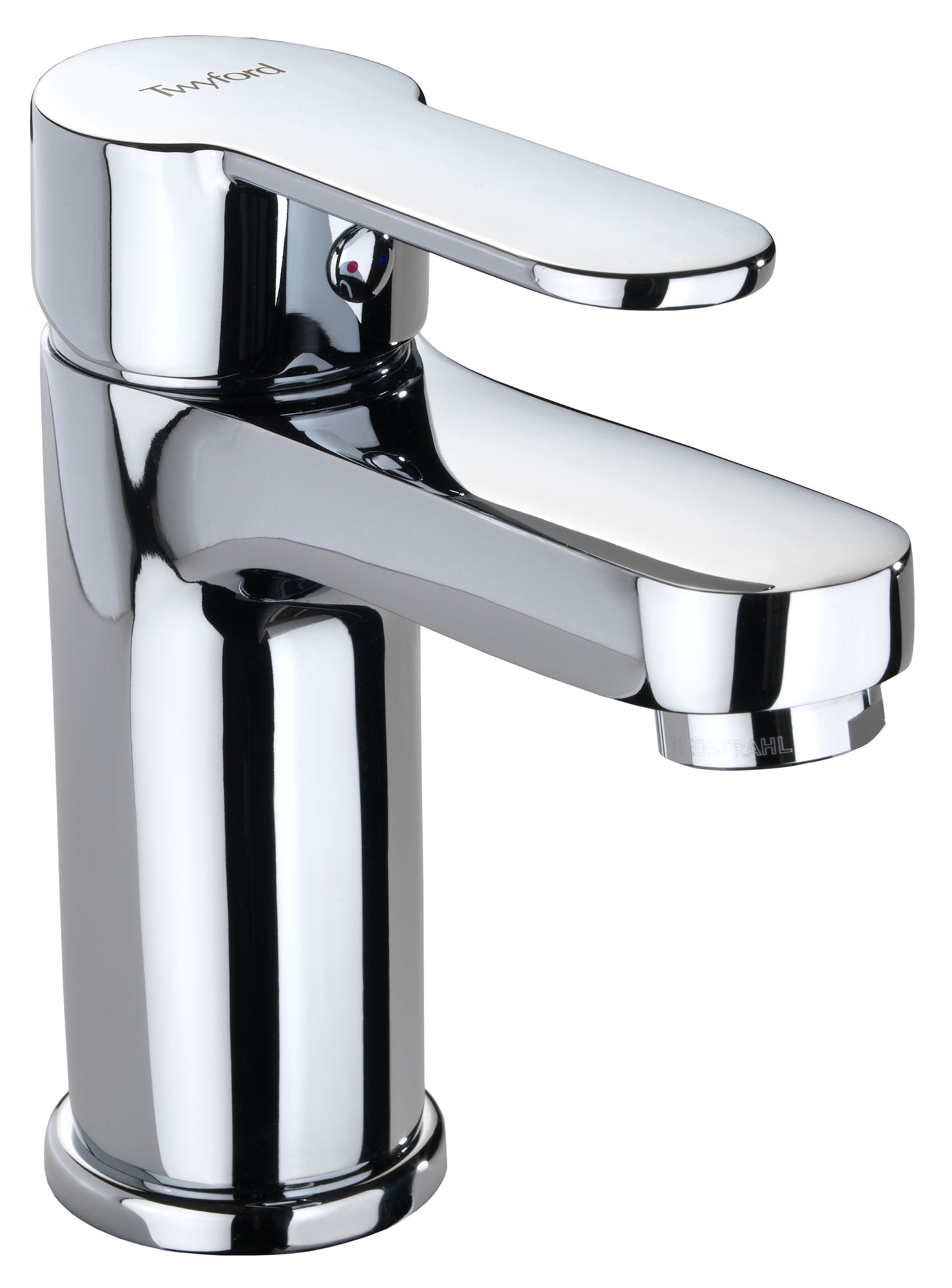 Best bathroom mixer taps - Twyford X50 Mono Mini Basin Mixer Tap With Click Clack Waste