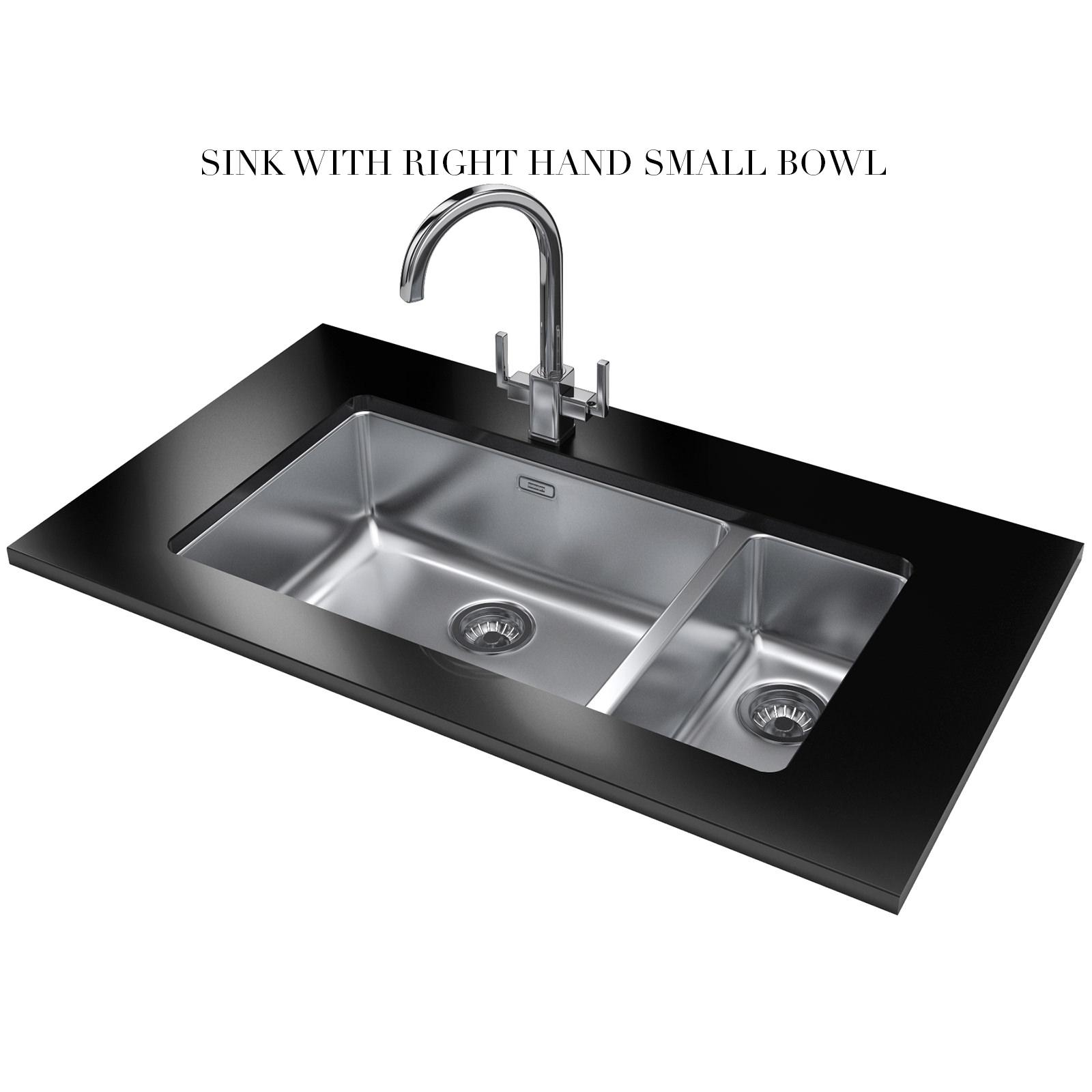 Best Price Franke Sinks : Franke kubus kbx 160 55 20 stainless steel 1 5 bowl undermount sink