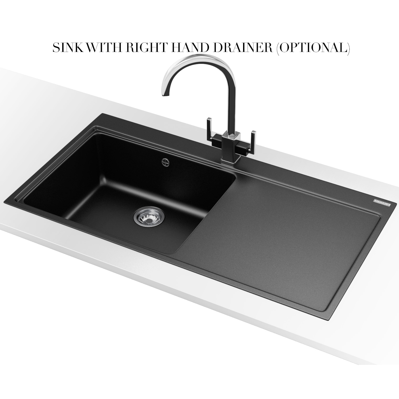 franke mythos mtg 611 fragranite onyx 1 0 bowl inset sink. Black Bedroom Furniture Sets. Home Design Ideas