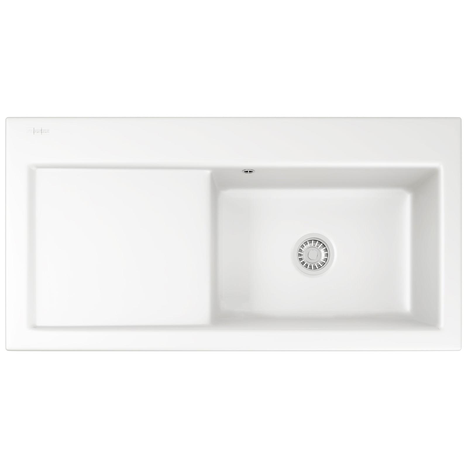 Franke Mythos Designer Pack MTK 611 Ceramic White Sink And Tap 124 ...