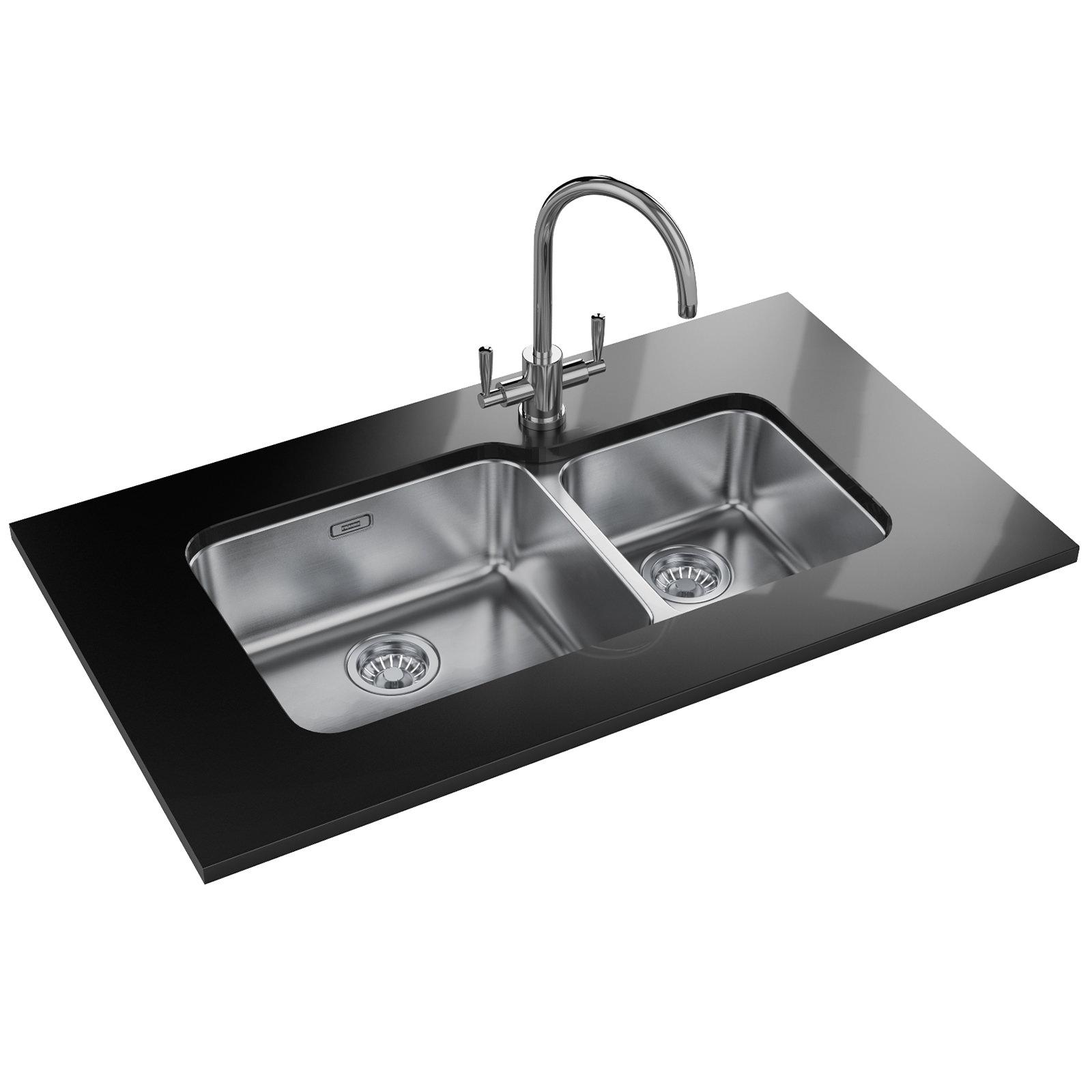 Franke Largo Lax 120 45 30 Stainless Steel 1 5 Bowl