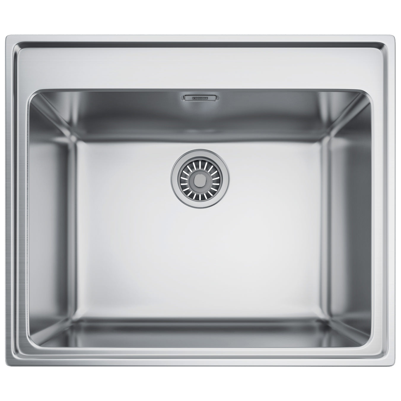 inset stainless steel kitchen sinks franke midas mtx 610 55 stainless steel 1 0 bowl inset 7530