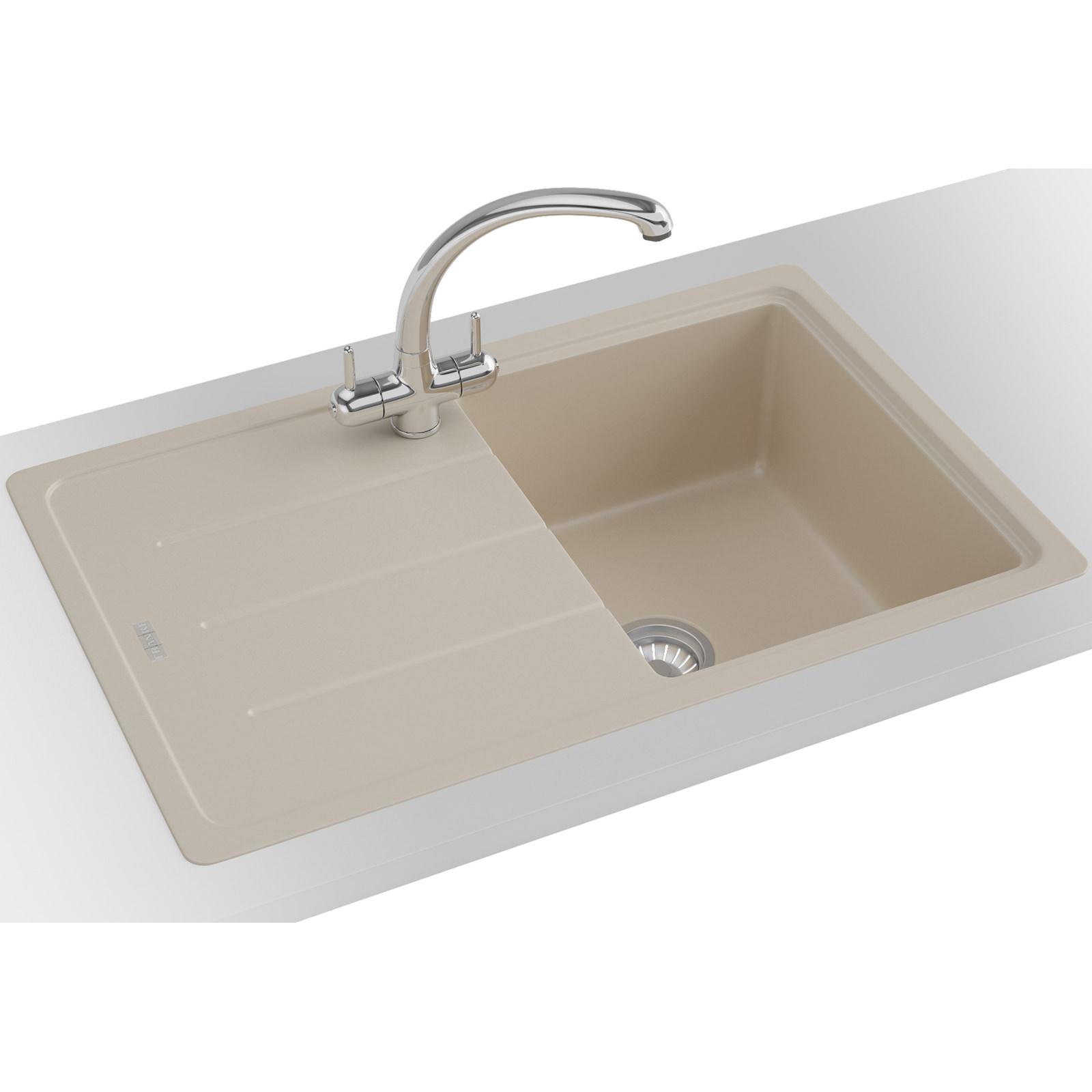 Franke Fragranite Sink Review : Franke Basis Propack BFG 611-780 Fragranite Coffee Kitchen Sink And ...