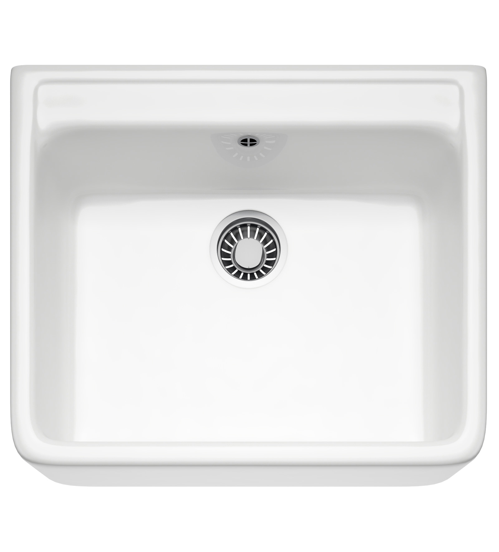 Belfast Kitchen Sink : Franke Belfast VBK 710 Ceramic White 1.0 Bowl Kitchen Sink 130.0049 ...