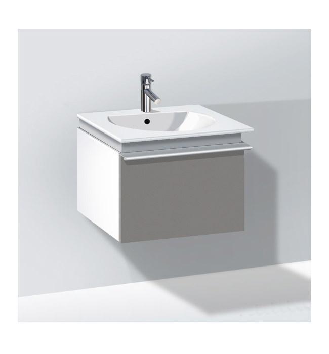 duravit darling new 500mm white matt vanity unit with 530mm basin dn6454. Black Bedroom Furniture Sets. Home Design Ideas
