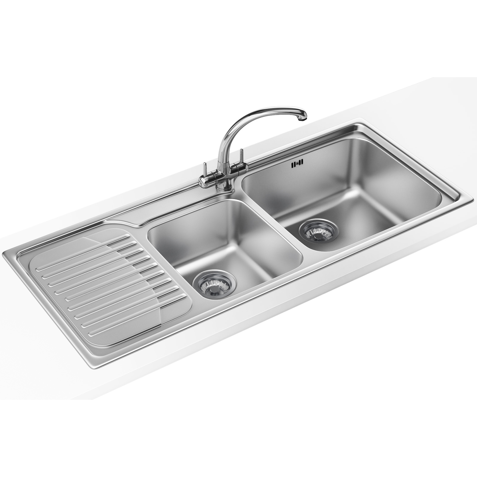 franke galassia designer pack gax 621 stainless steel sink and tap