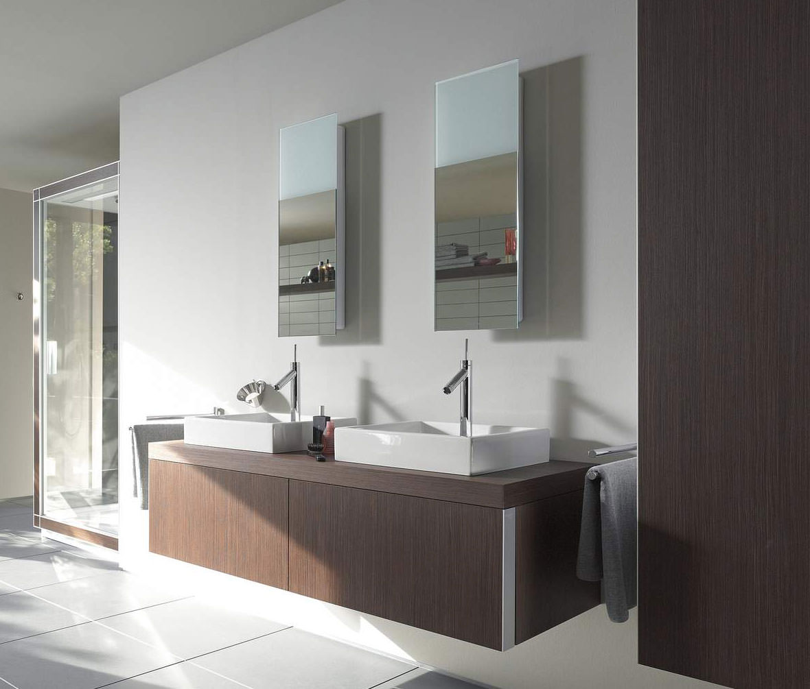 Duravit Starck Mirror With Lighting 292mm X 850mm