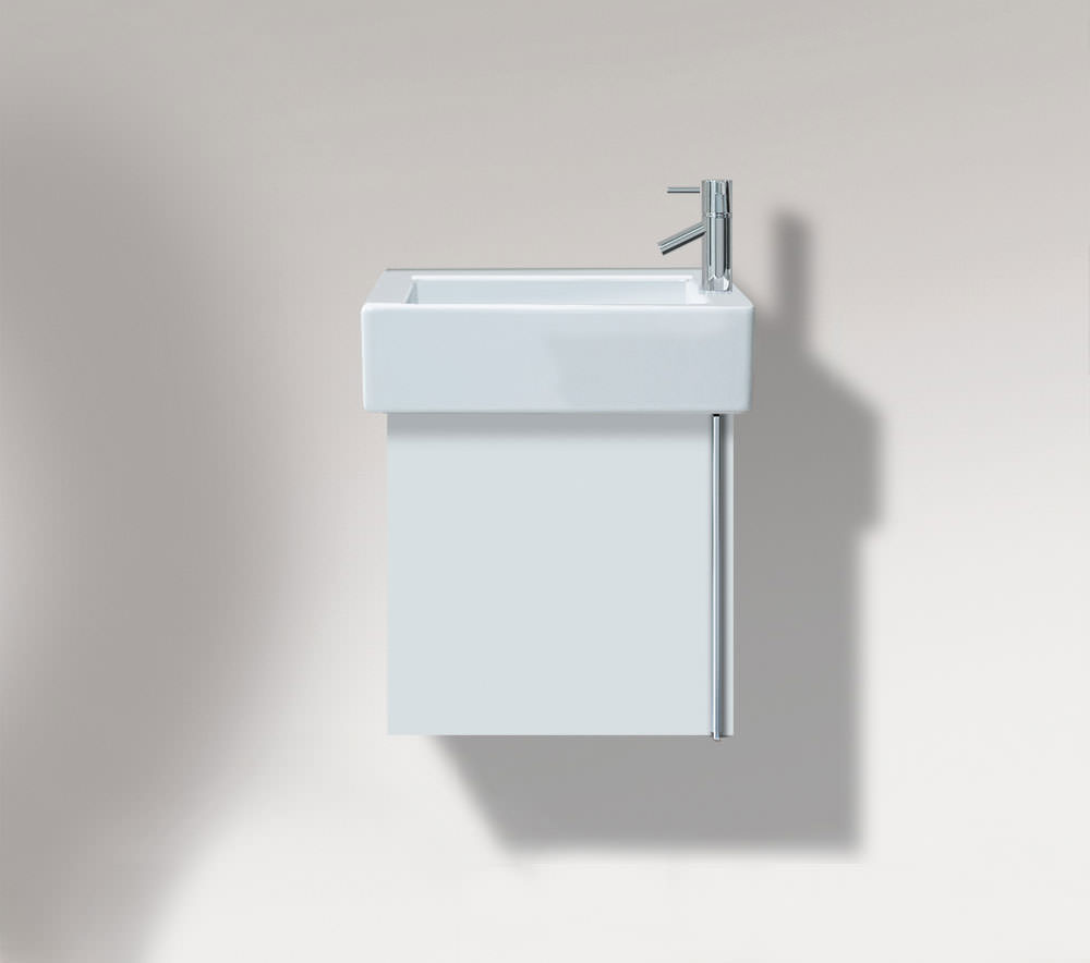 Duravit Vero 450mm Single Door Vanity Unit And 500mm Basin Ve6270l1818