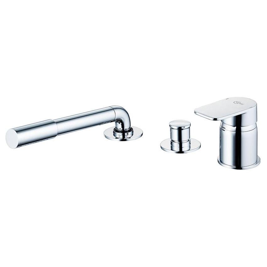 ideal standard tonic ii 3 hole sl bath shower mixer with