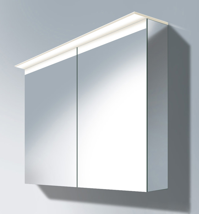 duravit delos 1000mm mirror cabinet with soundsystem