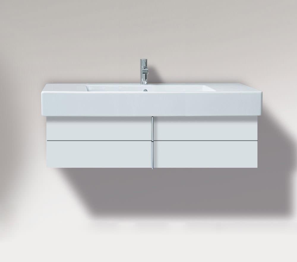 duravit vero 800mm 2 drawer unit and 850mm basin ve621301818. Black Bedroom Furniture Sets. Home Design Ideas