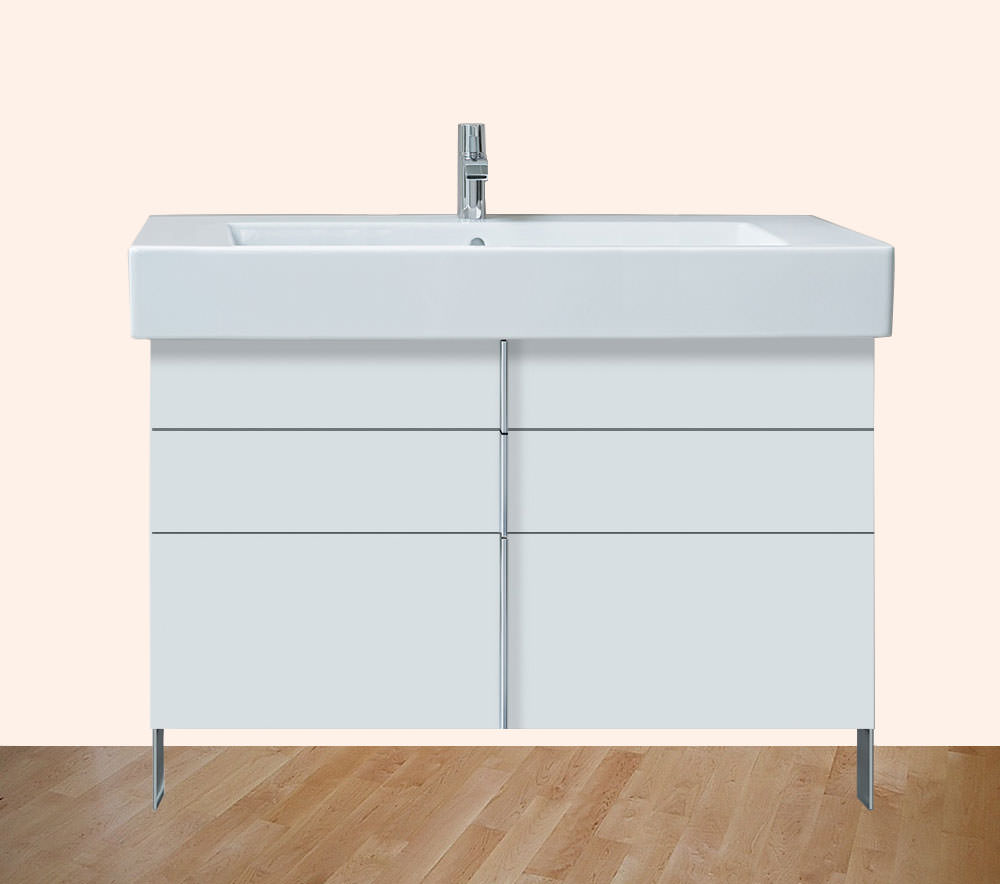 Vero 1000mm 2 drawer 1 pull out compartment unit with for 1000mm kitchen drawer unit